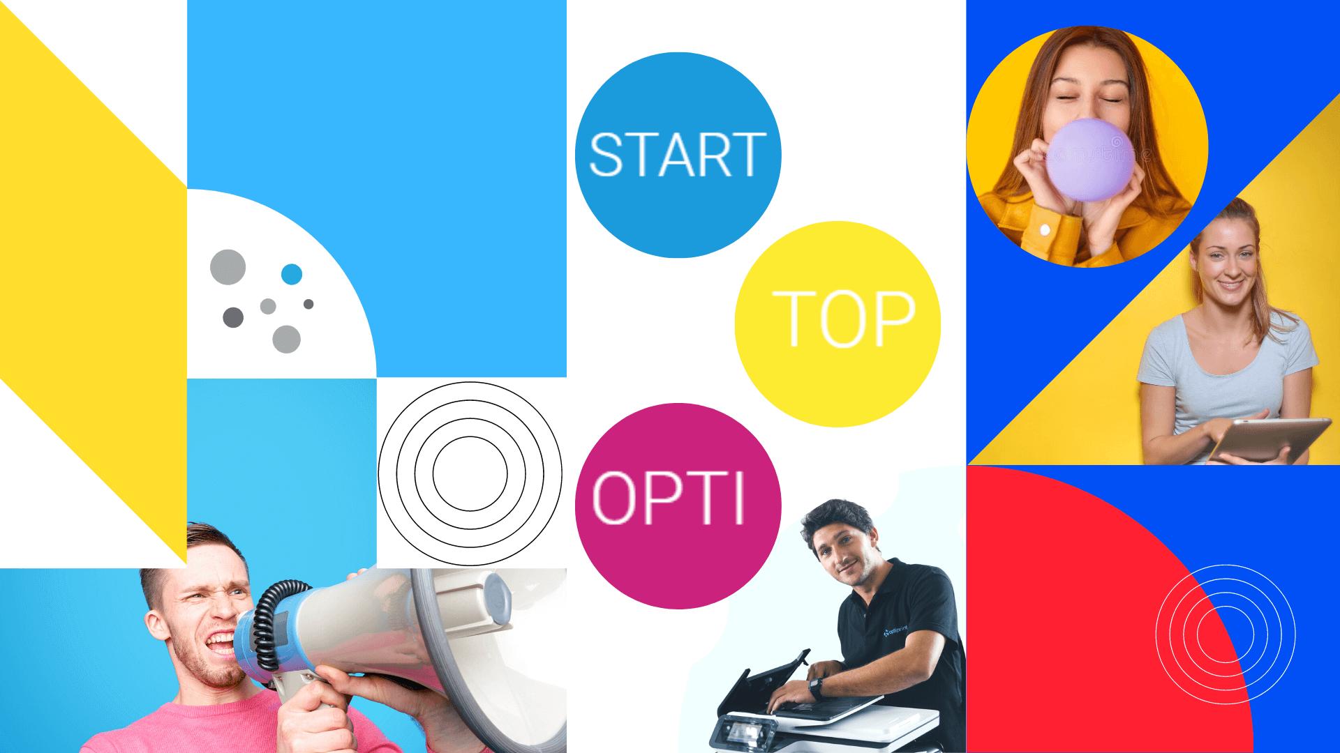 Tipărire optimă cu pachete START, TOP și OPTI!